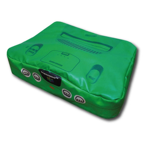 Nintendo 64 Console Dust Cover N64 - Vinyl (Jungle Green)