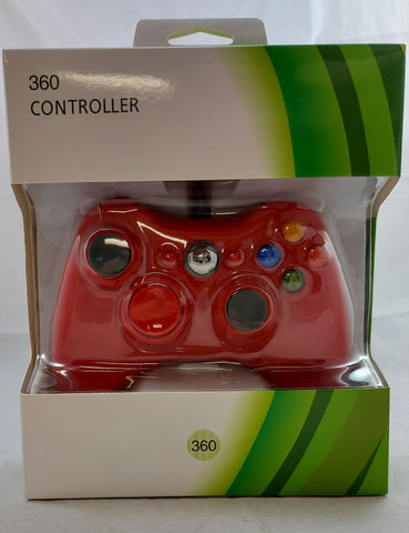 Generic Wired Controller for Xbox 360 - Red