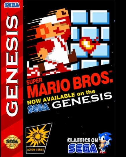 Super Mario Bros. (Reproduction) - Genesis (Pre-owned)