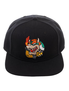 SUPER MARIO - Bowser Core Black Snapback