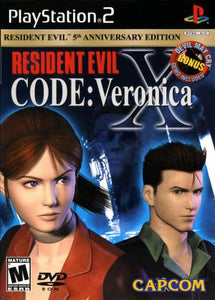 Resident Evil Code Veronica X - PS2 (Pre-owned)