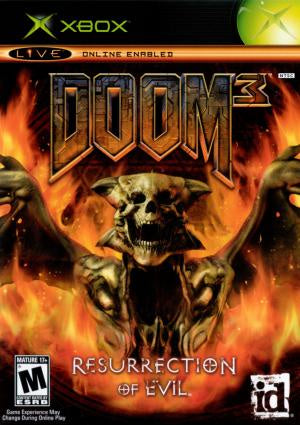 Doom 3 Resurrection of Evil - Xbox (Pre-owned)