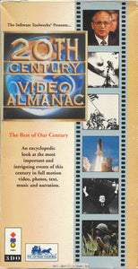 20th Century Video Almanac (Sleeved) - 3DO (Pre-owned)