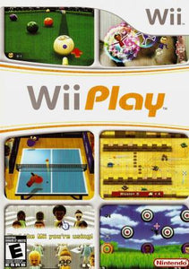 Wii Play (Game only) - Wii (Pre-owned)