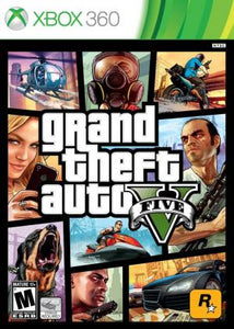 Grand Theft Auto V - Xbox 360 (Pre-owned)