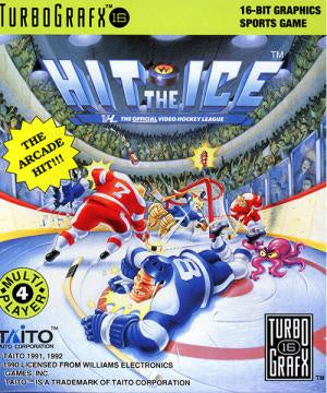 Hit the Ice - TurboGrafx-16 (Pre-owned) - TurboGrafx-16 (Pre-owned)
