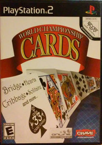 World Championship Cards - PS2 (Pre-owned)