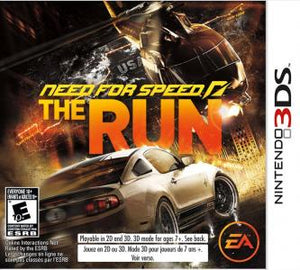 Need For Speed: The Run - 3DS (Pre-owned)