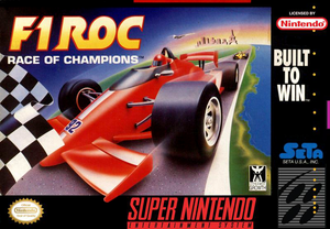 F1 ROC Race of Champions - SNES (Pre-owned)