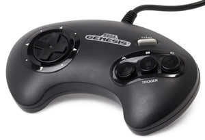 Genesis Controller 3-Button Official Sega Original Game Pad