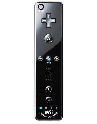 Official Nintendo Black Wii Remote MotionPlus Controller