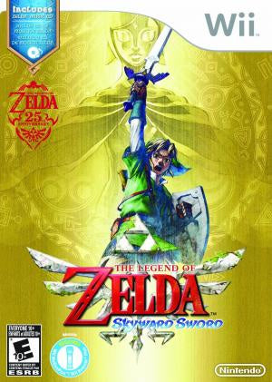 Legend of Zelda: Skyward Sword (Includes Zelda Music CD Soundtrack) - Wii (Pre-owned)
