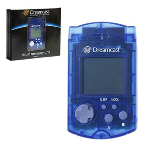 Official Sega Dreamcast VMU Virtual Memory Unit - Blue [OEM]