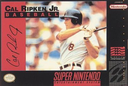 Cal Ripken Jr. Baseball - SNES (Pre-owned)