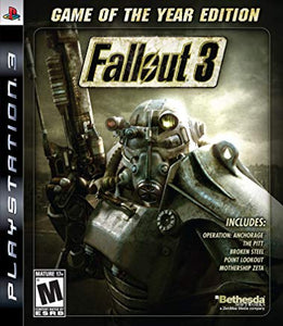 Fallout 3 Game of the Year Edition - PS3 (Pre-owned)