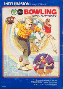 Bowling - Intellivision (Pre-owned)
