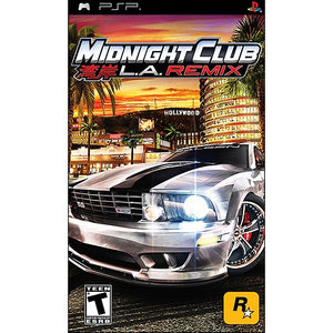 Midnight Club L.A. Remix - PSP (Pre-owned)