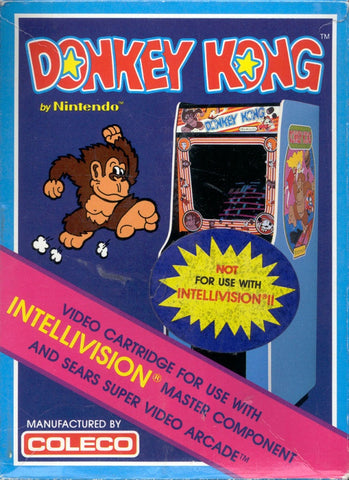 Donkey Kong - Intellivision (Pre-owned)