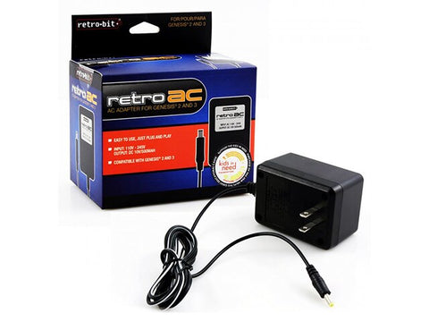 GENESIS 1 AC ADAPTER [RETROBIT]