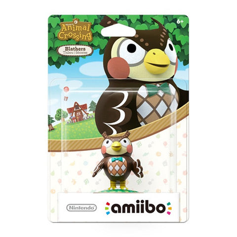 Blathers Amiibo (Animal Crossing Series)