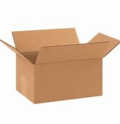 "10 x 7 x 5"" Corrugated Cardboard Shipping Box"