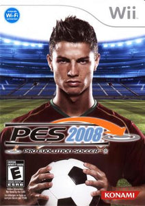 Pro Evolution Soccer 2008 - Wii (Pre-owned)
