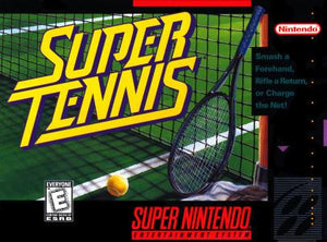 Super Tennis - SNES (Pre-owned)