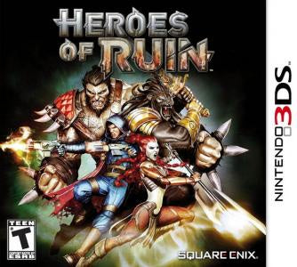 Heroes of Ruin - 3DS (Pre-owned)