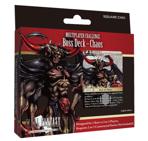 Final Fantasy TCG: Multiplayer Challenge - Boss Deck - Chaos