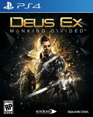 Deus Ex: Mankind Divided - PS4 (Pre-owned)