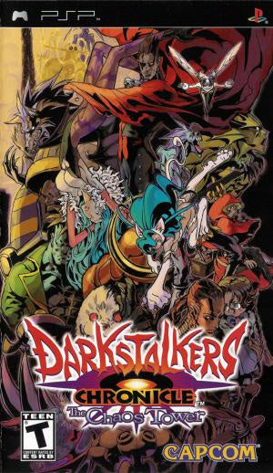 Darkstalkers Chronicle The Chaos Tower - PSP (Pre-owned)