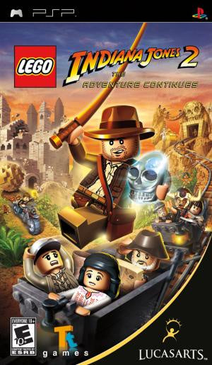 LEGO Indiana Jones 2: The Adventure Continues - PSP (Pre-owned)