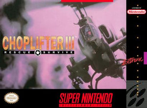 Choplifter 3 - SNES (Pre-owned)