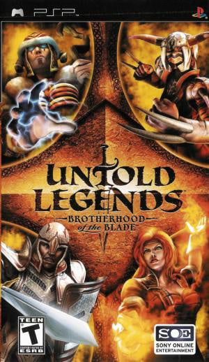 Untold Legends Brotherhood of the Blade - PSP (Pre-owned)
