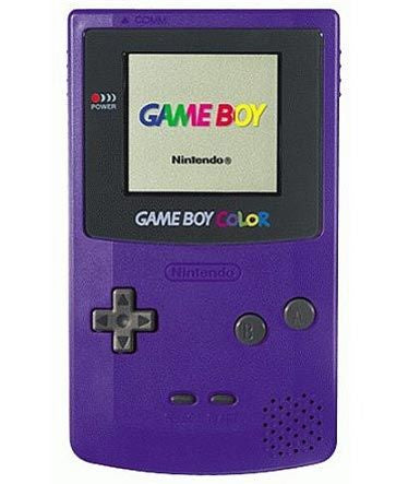 Gameboy Color System Console - Grape Purple