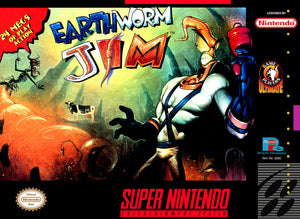 Earthworm Jim - SNES (Pre-owned)