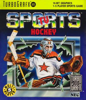 TV Sports Hockey - TurboGrafx-16 (Pre-owned)