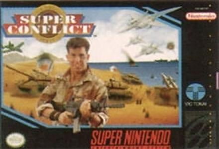 Super Conflict - SNES (Pre-owned)