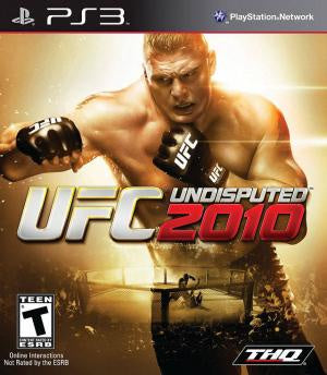 UFC Undisputed 2010 - PS3 (Pre-owned)