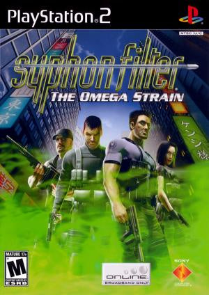 Syphon Filter Omega Strain - PS2 (Pre-owned)