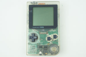 Game Boy Pocket Clear MGB-001 System Console