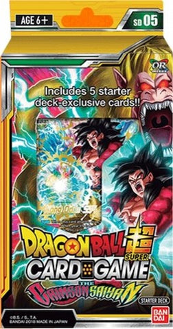 DBS TCG - The Crimson Saiyan Starter Deck