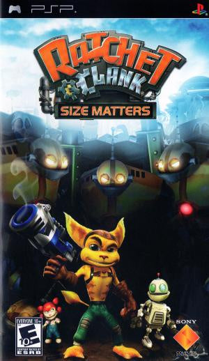 Ratchet and Clank Size Matters - PSP (Pre-owned)