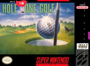 Hal's Hole in One Golf - SNES (Pre-owned)