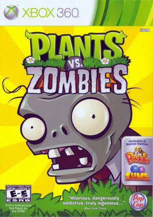 Plants vs. Zombies - Xbox 360 (Pre-owned)
