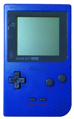 Game Boy Pocket Blue MGB-001 System Console