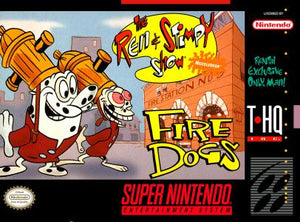 The Ren & Stimpy Show: Fire Dogs - SNES (Pre-owned)
