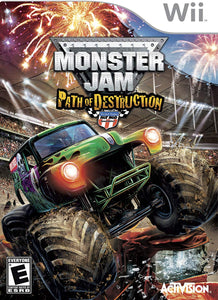 Monster Jam: Path of Destruction - Wii (Pre-owned)