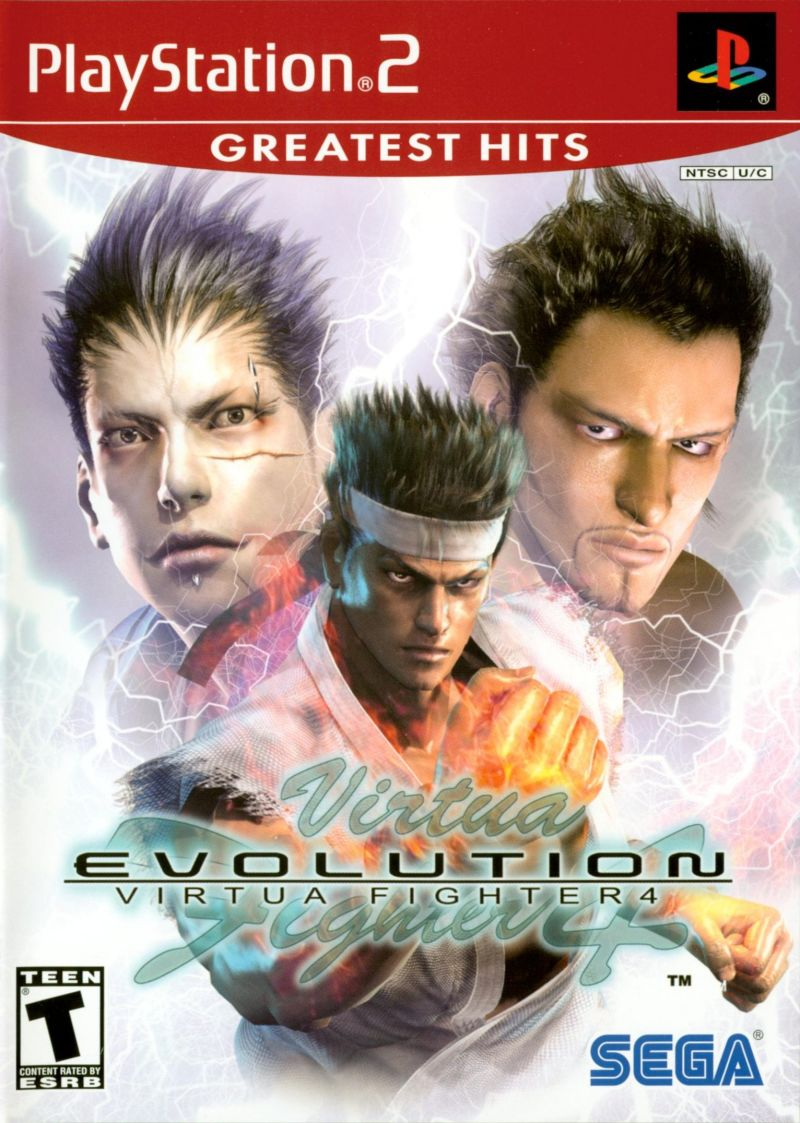 Virtua Fighter 4 Evolution - PS2 (Pre-owned)