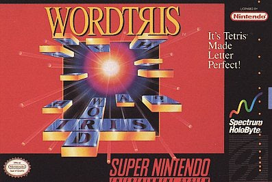 Wordtris - SNES (Pre-owned)